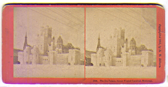 carnaval de quebec ice palace. #39;The Ice Palace, Great Winter